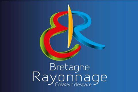 Logo Bretagne rayonnage, création Inspire - infographiste web designer indépendant à Rennes