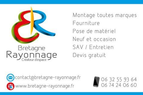 Plaque PVC 3 mm format A4 pour Bretagne rayonnage -Inspire, infographiste.