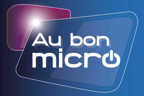 Infographiste : relooking logo Au bon micro