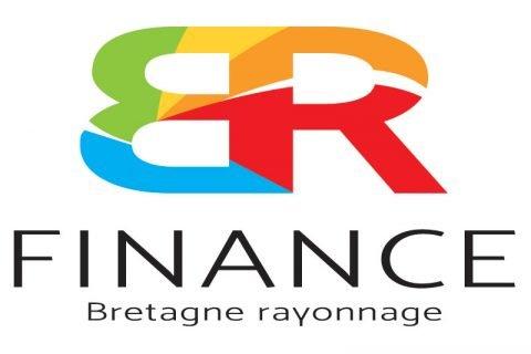 """Créaqtion du logo """"BR Finance"""" pour Bretagne Rayonnage"""